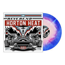 THE REVEREND HORTON HEAT - REV, Ltd/300 STARBURST COLORED VINYL LP + DL New!