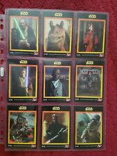 Star Wars Australian KFC Card set of 10  - mint