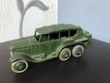 VINTAGE DINKY 152b MILITARY RECONNAISANCE CAR ISSUED 1937-41 VGC