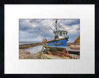 Fishing boat. Print or canvas print