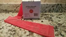 RED Theraband by the FOOT resistance exercise band Physical Therapy Rehab