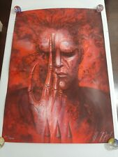 "FUTURE-KILL   H.R.GIGER SIGNED AND NUMBERED ""RED"" LITHOGRAPH Rare EX 241/1000"