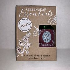 "NEW - Greenleaf Essential Oil - ""Patchouli"""