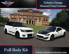 Maserati GranTurismo Xclusive Customz Body Kit