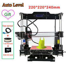2017 Upgraded Quality High Precision Reprap Prusa i3 3D Printer Kit Auto Level U