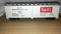 HO Scale Swift Refrigerator Line 40' Reefer #4226 TYCO 329A SRLX