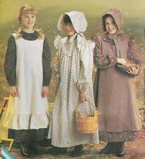 Sewing PATTERN Prairie Little House dress McCalls 9424 / 7231 Pioneer girl 14-16