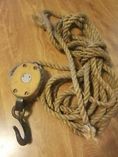 VINTAGE BLOCK AND TACKLE/VINTAGE BARN MEMORABILIA