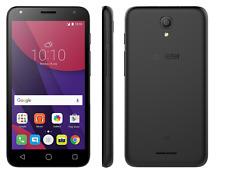 """Nuovo di Zecca ALCATEL PIXI 4 5"""" pollici 8GB Android Senza SIM Sbloccato Nero Fotocamera 8MP"""