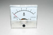 Analog AMP Current Panel Meter DC 0~5A Ammeter A436