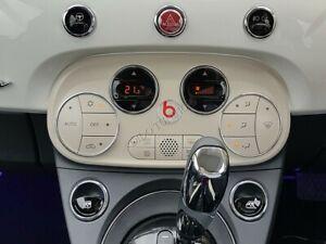 Fiat 500 2015-    Polished Aluminium Heater A/C Control Surrounds Rings x2