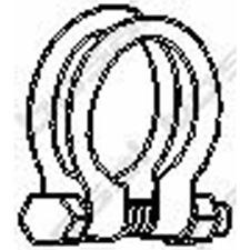 Rohrverbinder Abgasanlage - Bosal 250-465