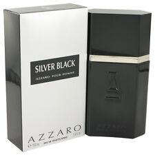AZZARO SILVER BLACK - EDT VAPORISATEUR de 100ml NEUF / BLISTER