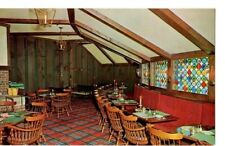 Postcard MI St. Clair Inn Coach Room Cocktail Lounge c.1960's MI9