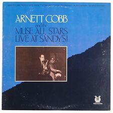 ARNETT COBB w/ MUSE ALL STARS: Live at Sandys PROMO Vinyl LP Jazz NM