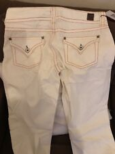 Guess Jeans White With Stitching Size 29