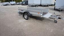 ALU Pkw 2,5m Anhänger NEU sehr stabil 1200kg für Garten klappbare Vorderwand