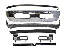 For 94-98 Dodge Ram 1500 25 3500 Front Bumper Chrome Upper Valance Air Dam 10Pcs