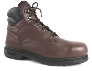 70% OFF--- Wolverine Men's Steel Toe Bulldozer Leather Safety Work Boots 08165