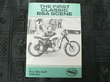 BSA THE FIRST CLASSIC BSA SCENE BRUCE MAIN SMITH 1982 GOLD STAR M20,M21,ROCKET