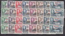 Falkland Islands Scott 2L1-5L8 Mint hinged (Catalog Value $86.00)