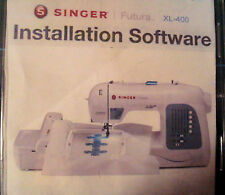 Installation Software For Singer Futura Ce-150 or Xl 400 420 , 550 and 580