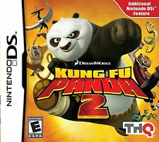 Kung Fu Panda 2 - Nintendo DS - video game with booklet and case