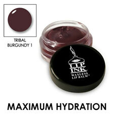 LIP INK Organic Tinted Lip Balm Moisturizer - Tribal Burgundy-1