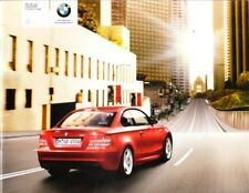 2008 08 BMW 1  Series Coupe sales  Brochure