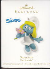 2011 Dated Hallmark Smurfette The Smurfs Ornament