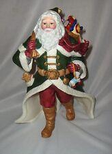 Lenox Fine Porcelain Victorian Santa Figurine 1993 Internatnal Santa Collection