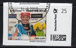 Le Timbre Individuell Luge WM - Felix Trou Oo
