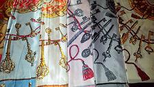 Joblot 28 un. Imitación Seda scarf/scarves Venta Por Mayor Nuevos 90x90 Cm Lote 1