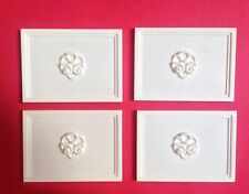 DOLLS HOUSE X4 WHITE WALL PANELS