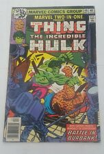 marvel two in one # 46 hulk