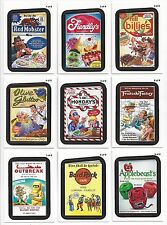 2013 Topps Wacky Packages ANS11 Series 11 RUDE FOODS RESTAURANT SET of 9 nm+