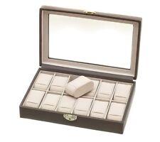 Davidt's gris verrouillable douze watch box DAV367 844 34