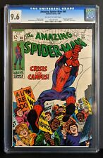 AMAZING SPIDER-MAN #68 CGC 9.6 (NM+) Off-White to White Pages