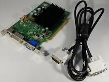 Nvidia GeForce 7300 LE D33088 Video Card P280 TV VGA DVI Cable 0DK315 PCIe x16