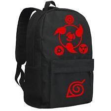 Bag Anime Naruto Cosplay Manga Messenger Travel  Shoulder Backpack Schoolbag