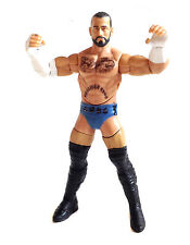 WWF WWE TNA Wrestling CM PUNK figure with Butting Action Mattel Series RARE