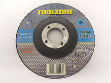 4.5 inch 115mm Metal Cutting Angle Grinder Discs (10 Pack)