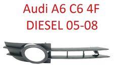 Audi a6 c6 4f 05-08 diesel parachoques parrilla rejilla ventilación diafragma derecha