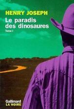 Le paradis des dinosaures Joseph  Henry Occasion Livre