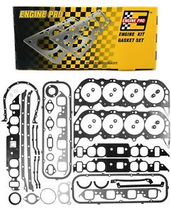 Engine Pro Full Overhaul Gasket Set for 1965-1979 Chevrolet BBC 396 402 427 454