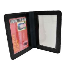 """Perfect Fit Leather Dual Double ID Case License Card Permit Holder 2 5/8"""" X 4"""""""