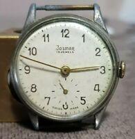 orologio vintage uomo Josmar EB 1197 bilanciere ok uomo da revisionare