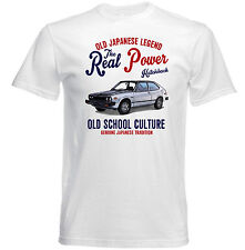 VINTAGE JAPANESE CAR HONDA ACCORD HATCHBACK - NEW COTTON T-SHIRT