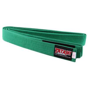 Tatami Fightwear Kids BJJ Rank Green Belt