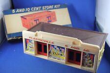 Plasticville - #CS-5 - 5 & 10 Cent Store - Complete ALL ORIGINAL - Boxed